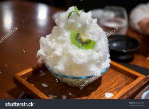 stock-photo-traditional-japanese-dessert-shaved-ice-with-kiwi-443783386